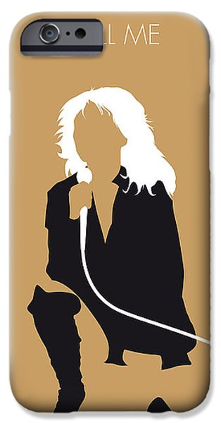 Waves Digital iPhone Cases - No030 MY Blondie Minimal Music poster iPhone Case by Chungkong Art