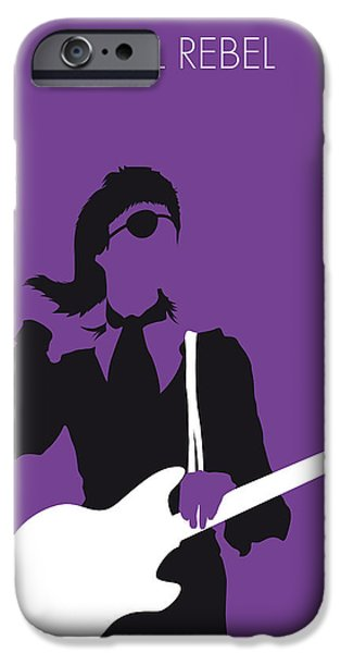 Bowie iPhone Cases - No031 MY BOWIE Minimal Music poster iPhone Case by Chungkong Art