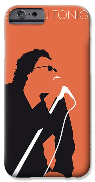 Torn Digital Art iPhone Cases - No033 MY INXS Minimal Music poster iPhone Case by Chungkong Art