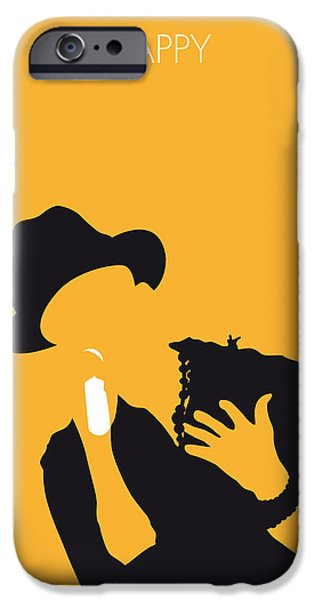 Happy Posters iPhone Cases - No034 MY Pharrell Williams Minimal Music poster iPhone Case by Chungkong Art