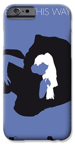 Bears iPhone Cases - No038 MY LADY GAGA Minimal Music poster iPhone Case by Chungkong Art