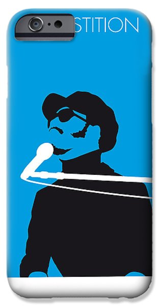 Talking iPhone Cases - No039 MY STEVIE WONDER Minimal Music poster iPhone Case by Chungkong Art
