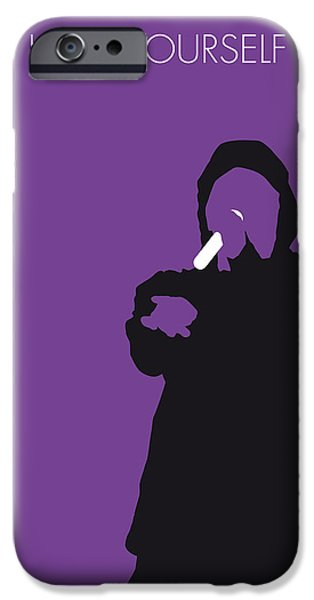 Lost iPhone Cases - No041 MY EMINEM Minimal Music poster iPhone Case by Chungkong Art