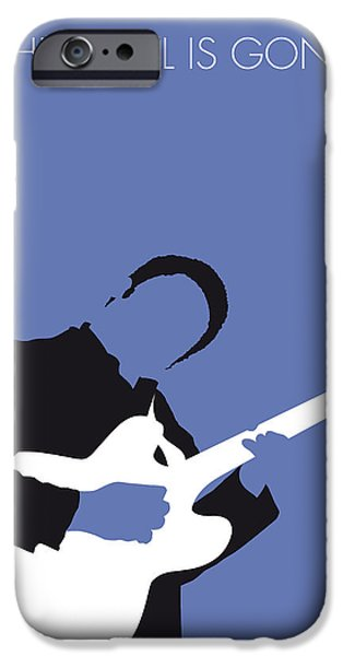 West Digital Art iPhone Cases - No048 MY BB KING Minimal Music poster iPhone Case by Chungkong Art