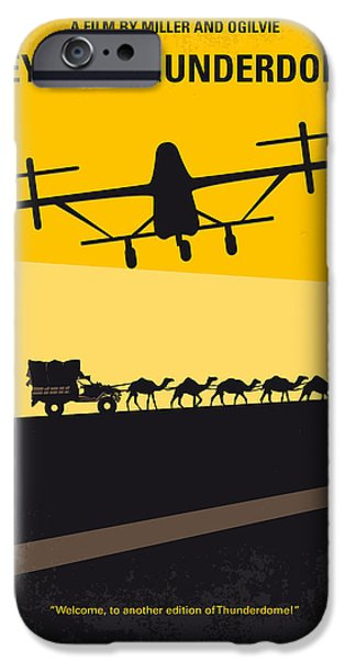 Mad iPhone Cases - No051 My Mad Max 3 Beyond Thunderdome minimal movie poster iPhone Case by Chungkong Art