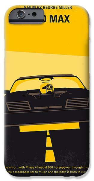 Mad iPhone Cases - No051 My Mad Max minimal movie poster iPhone Case by Chungkong Art