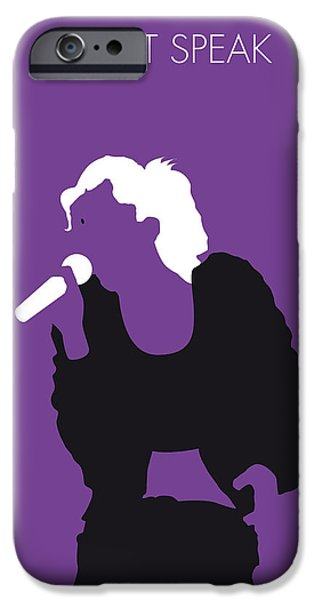 Gwen Stefani iPhone Cases - No051 MY NO DOUBT Minimal Music poster iPhone Case by Chungkong Art