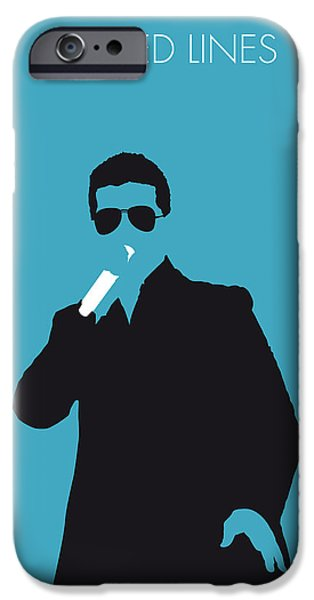 Line Style iPhone Cases - No055 MY ROBIN THICKE Minimal Music poster iPhone Case by Chungkong Art