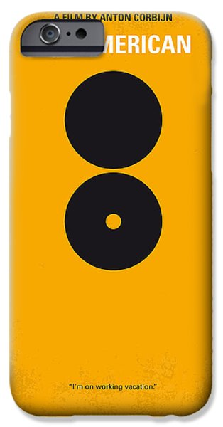 Weapon Digital iPhone Cases - No088 My The American minimal movie poster iPhone Case by Chungkong Art