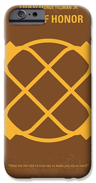 Honor iPhone Cases - No099 My Men of Honor minimal movie poster iPhone Case by Chungkong Art