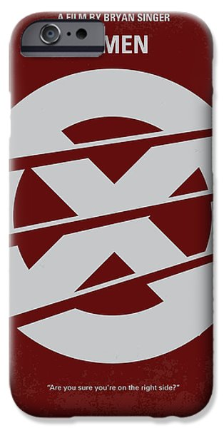 No123 My Xmen minimal movie poster iPhone Case by Chungkong Art