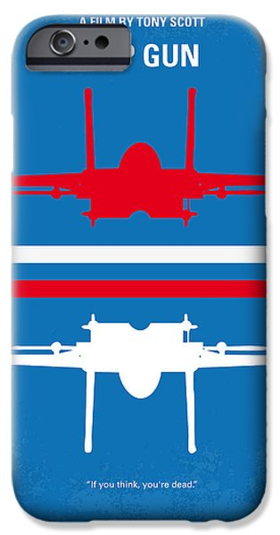 Sale iPhone Cases - No128 My TOP GUN minimal movie poster iPhone Case by Chungkong Art