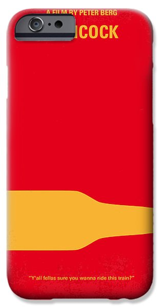 Color iPhone Cases - No129 My HANCOCK minimal movie poster iPhone Case by Chungkong Art