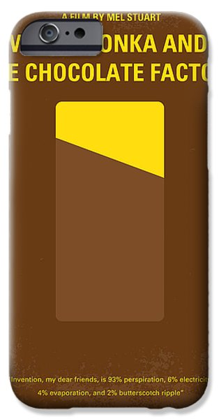 The Gift iPhone Cases - No149 My willy wonka and the chocolate factory minimal movie poster iPhone Case by Chungkong Art