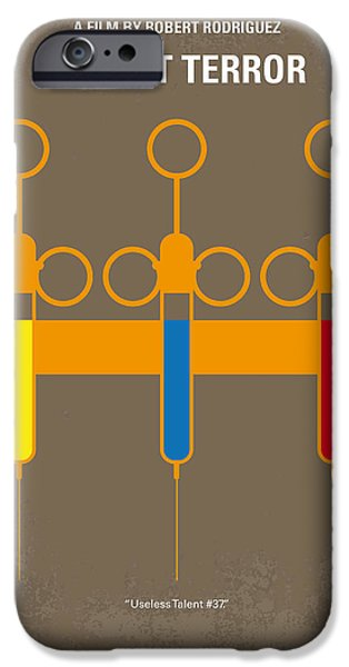 Sheriff iPhone Cases - No165 My Planet Terror minimal movie poster iPhone Case by Chungkong Art