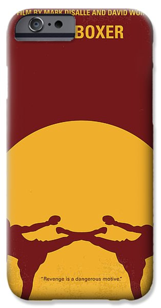 Thai iPhone Cases - No178 My Kickboxer minimal movie poster iPhone Case by Chungkong Art