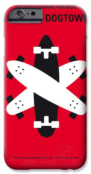 Santa Digital iPhone Cases - No188 My The Lords Of Dogtown minimal movie poster iPhone Case by Chungkong Art