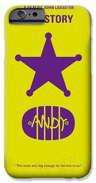 No190 My Toy Story minimal movie poster iPhone Case by Chungkong Art
