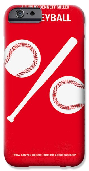 Yankees iPhone Cases - No191 My Moneyball minimal movie poster iPhone Case by Chungkong Art