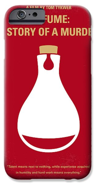 No194 My Perfume The Story of a Murderer minimal movie poster iPhone Case by Chungkong Art