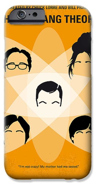Recently Sold -  - Graphic Design iPhone Cases - No196 My The Big Bang Theory minimal poster iPhone Case by Chungkong Art