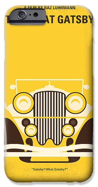 No206 My The Great Gatsby minimal movie poster iPhone Case by Chungkong Art