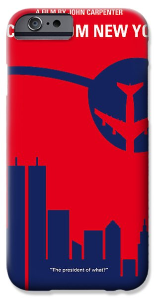 York iPhone Cases - No219 My Escape from New York minimal movie poster iPhone Case by Chungkong Art