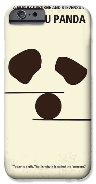 Monkey iPhone Cases - No227 My KUNG FU Panda minimal movie poster iPhone Case by Chungkong Art