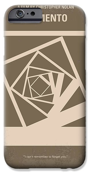 Memories iPhone Cases - No243 My Memento minimal movie poster iPhone Case by Chungkong Art