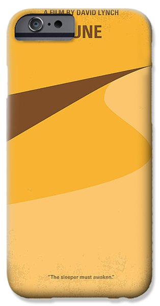 David iPhone Cases - No251 My DUNE minimal movie poster iPhone Case by Chungkong Art