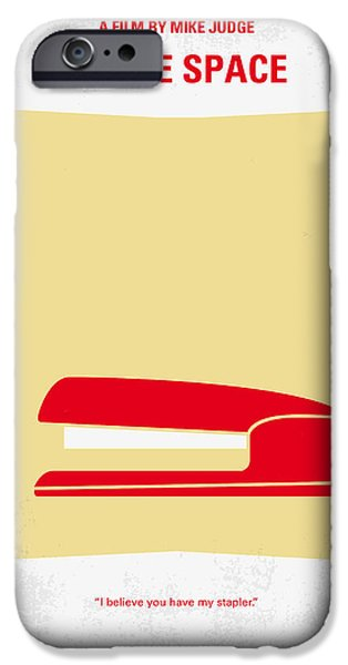 Recently Sold -  - Graphic Design iPhone Cases - No255 My OFFICE SPACE minimal movie poster iPhone Case by Chungkong Art