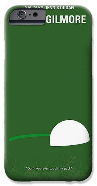 Adam iPhone Cases - No256 My Happy Gilmore minimal movie poster iPhone Case by Chungkong Art