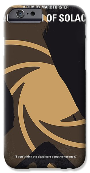 Young iPhone Cases - No277-007-2 My Quantum of Solace minimal movie poster iPhone Case by Chungkong Art