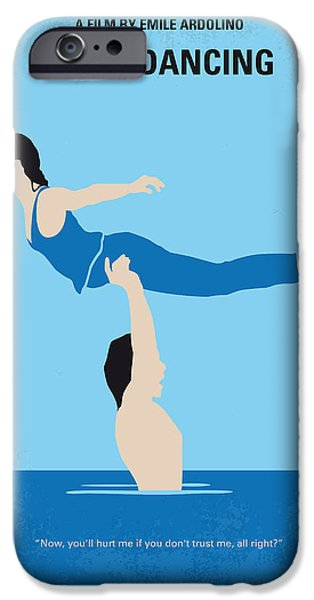 Dirty iPhone Cases - No298 My Dirty Dancing minimal movie poster iPhone Case by Chungkong Art