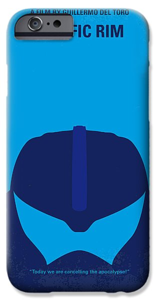Pacific iPhone Cases - No306 My Pacific Rim minimal movie poster iPhone Case by Chungkong Art
