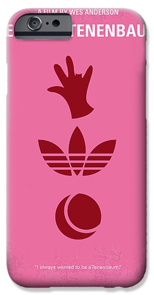 Graphic Design iPhone Cases - No320 My The Royal Tenenbaums minimal movie poster iPhone Case by Chungkong Art