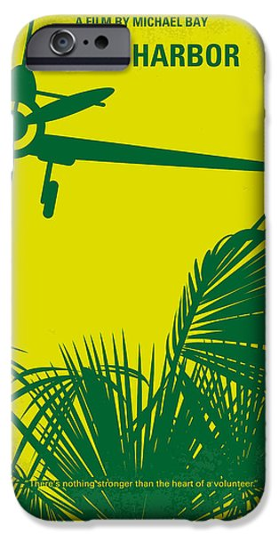 Pearls iPhone Cases - No335 My PEARL HARBOR minimal movie poster iPhone Case by Chungkong Art