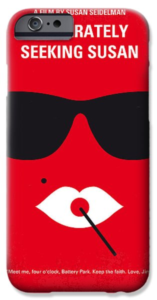 Madonna Digital iPhone Cases - No336 My desperately seeking susan minimal movie poster iPhone Case by Chungkong Art