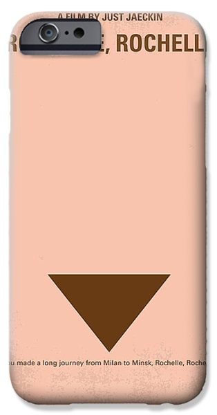 Minimalism iPhone Cases - No354 My Rochelle Rochelle minimal movie poster iPhone Case by Chungkong Art