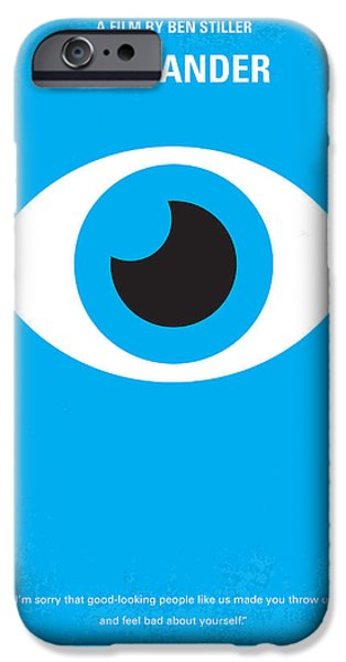 Graphic Design iPhone Cases - No359 My Zoolander minimal movie poster iPhone Case by Chungkong Art