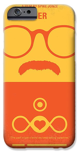 Phoenix iPhone Cases - No372 My HER minimal movie poster iPhone Case by Chungkong Art