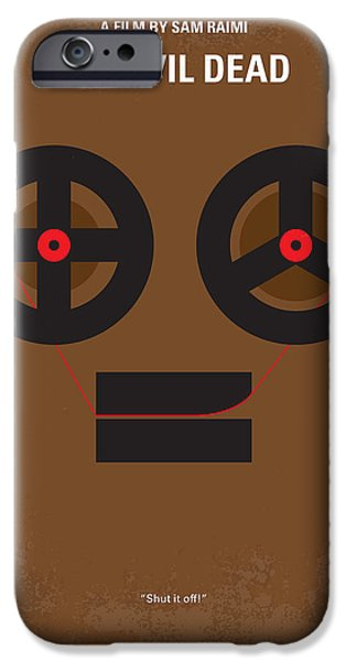 Evil iPhone Cases - No380 My The Evil Dead minimal movie poster iPhone Case by Chungkong Art