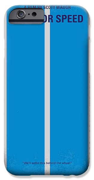 Turbo iPhone Cases - No407 My NEED FOR SPEED minimal movie poster iPhone Case by Chungkong Art