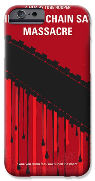 Franklin iPhone Cases - No410 My The Texas Chain Saw Massacre minimal movie poster iPhone Case by Chungkong Art