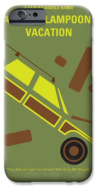 Rusty iPhone Cases - No412 My National Lampoons Vacation minimal movie poster iPhone Case by Chungkong Art