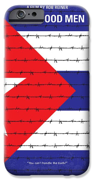 Cuba iPhone Cases - No417 My A Few Good Men minimal movie poster iPhone Case by Chungkong Art