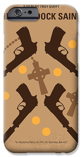 Boston iPhone Cases - No419 My BOONDOCK SAINTS minimal movie poster iPhone Case by Chungkong Art