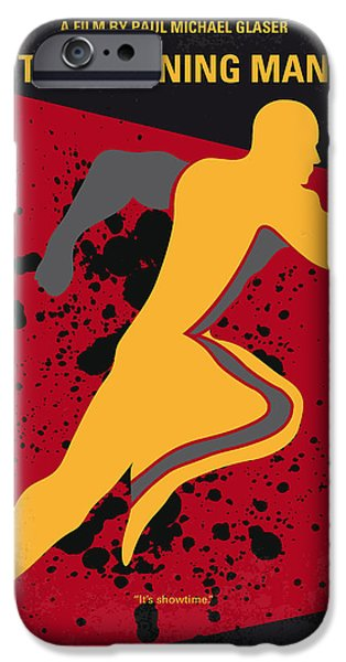 Prison iPhone Cases - No425 My Running man minimal movie poster iPhone Case by Chungkong Art
