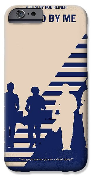 Stand iPhone Cases - No429 My Stand by me minimal movie poster iPhone Case by Chungkong Art