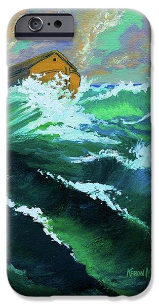 Noah's Ark iPhone Case by Karon Melillo DeVega